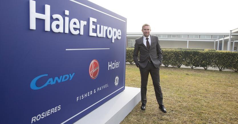 Il ceo di Haier Europe, Yannick Fierling