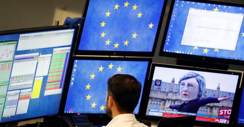 88211ae394 La bocciatura dell'accordo tra Ue e Londra sulla Brexit da parte della  Camera dei Comuni inglese non ha provocato scossoni sui mercati  continentali.