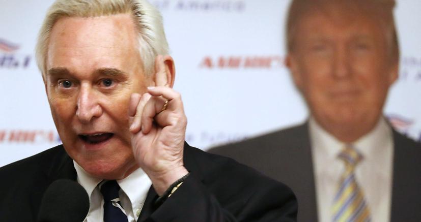 Roger Stone, ex consigliere di Donald Trump (Afp)