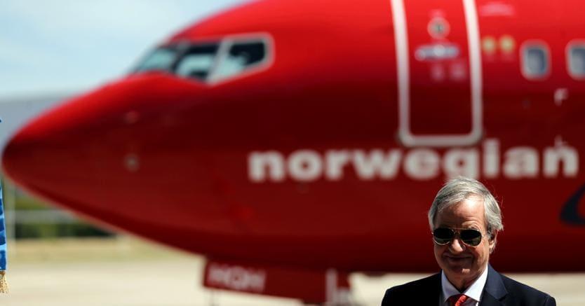 Bjorn Kjos, ceo di Norwegian Group