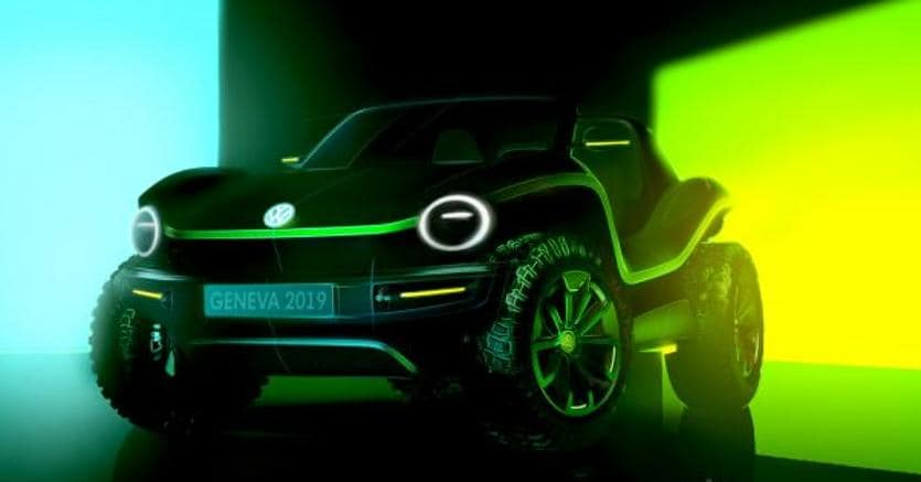 Dune Buggy elettrico, a marzo il ritorno del mito Volkswagen