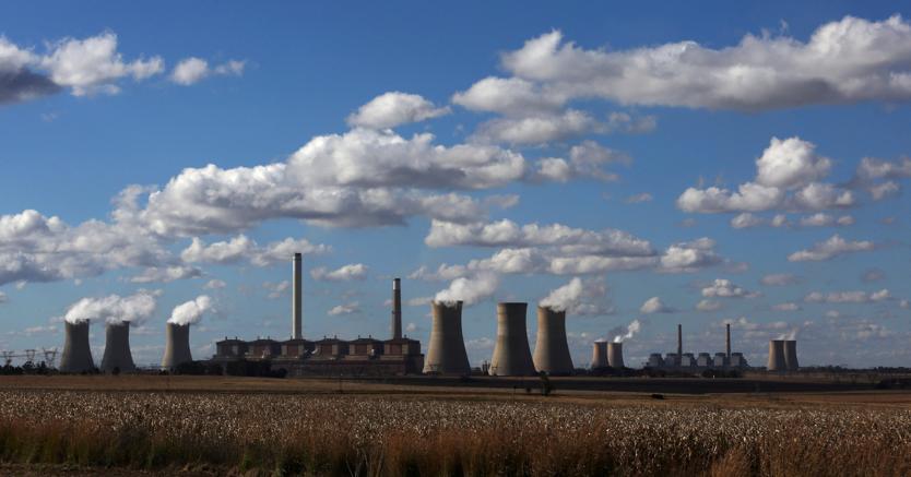 Una centrale elettrica a carbone a Mpumalanga, in Sudafrica (Reuters)