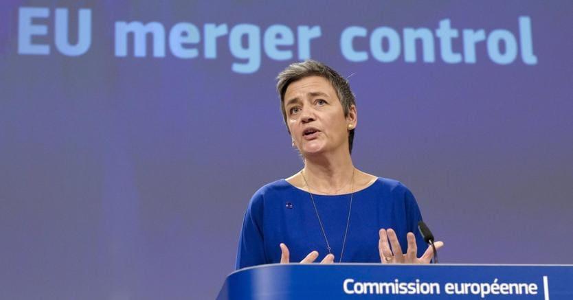 La c ommissaria  Ue alla Concorrenza Margrethe Vestager