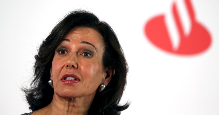 La presidente del Banco Santander, Ana Botin (Reuters)