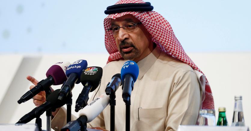 Il ministro saudita dell'Energia Khalid al-Falih (Reuters)