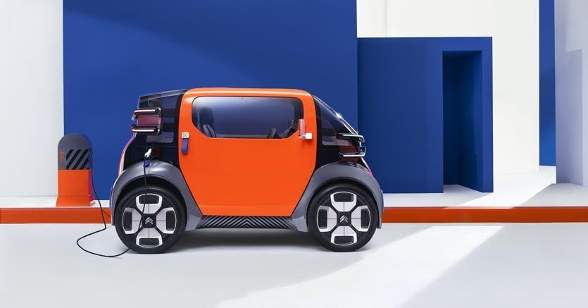 Ami One Concept, la mobilità futura secondo Citroen