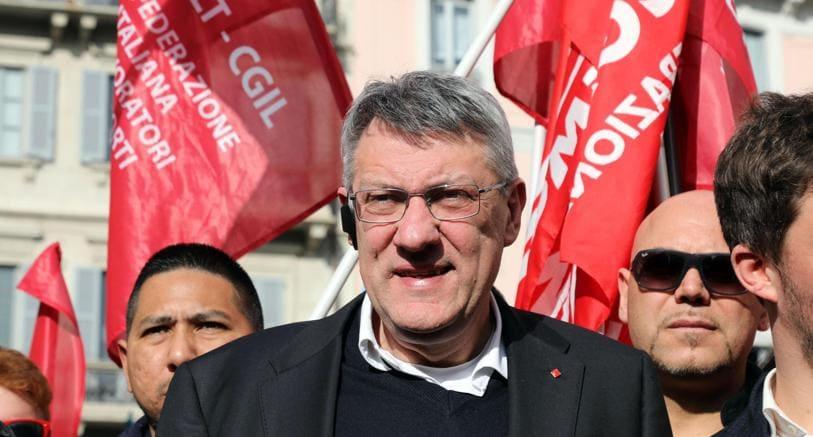 Maurizio Landini (Ansa)