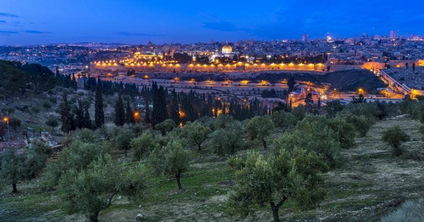 Gerusalemme. Il Monte degli Ulivi e lo scorcio sulla città (credit: John Theodor)