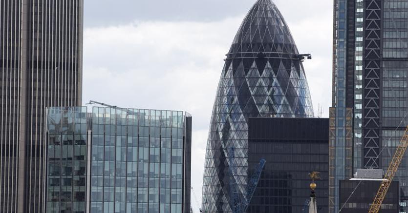 Un'immagine della City di Londra