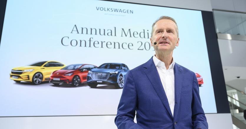Herbert Diess, Ceo  Volkswagen  (Ap)