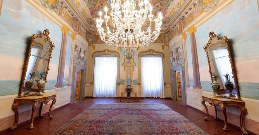 Pontremoli MS, Palazzo Negri Dosi Foto di REONstudio © FAI - Fondo Ambiente Italiano