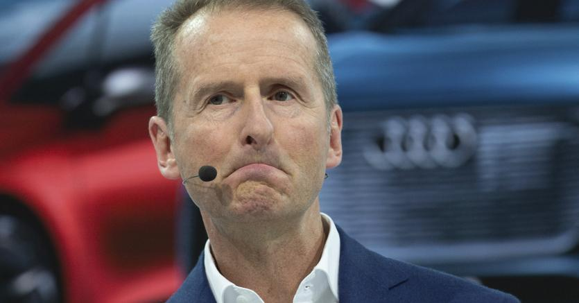 Herbert Diess, ceo di Volkswagen (Ap)