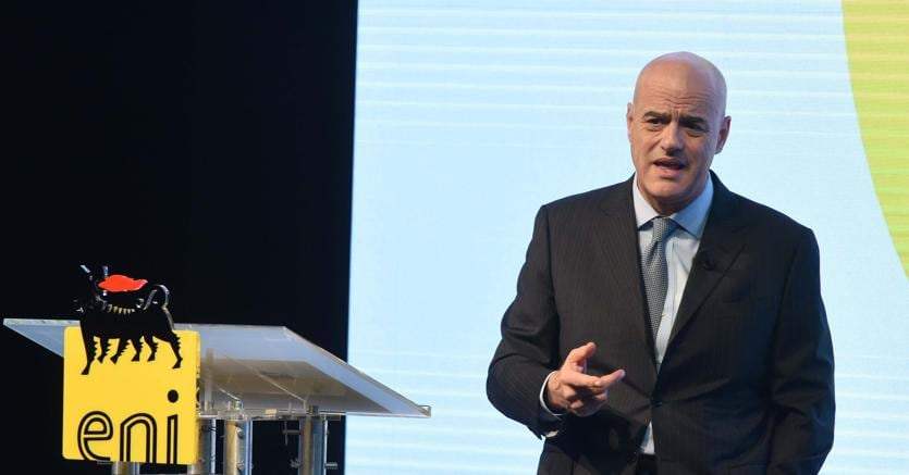 L'amministratore delegato di Eni Claudio Descalzi