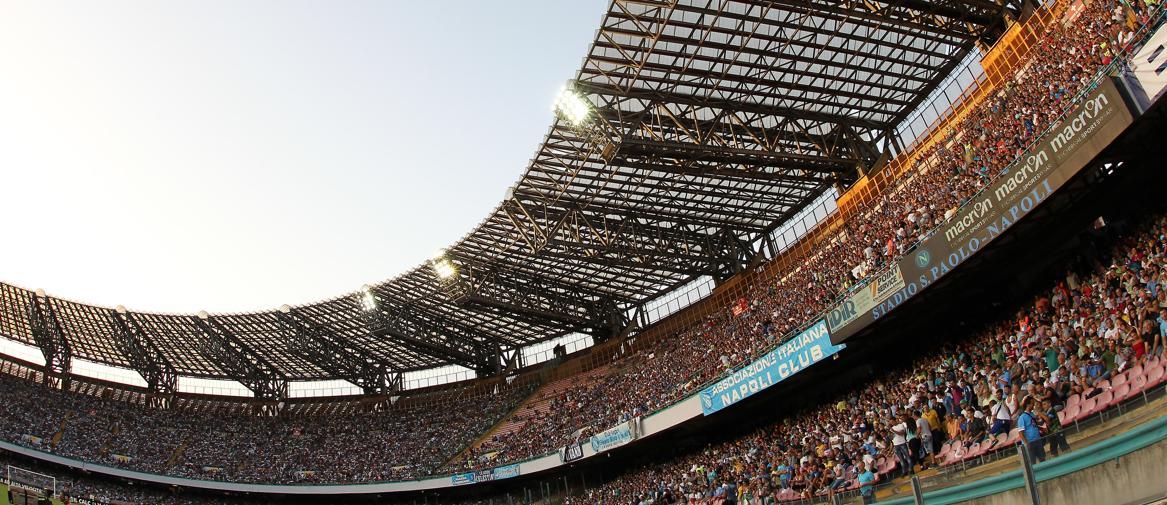 Napoli. Stadio San Paolo (Afp)