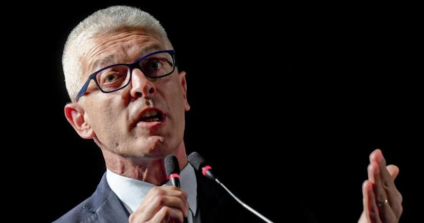 Nicola Morra, presidente della Commissione parlamentare antimafia (Ansa)
