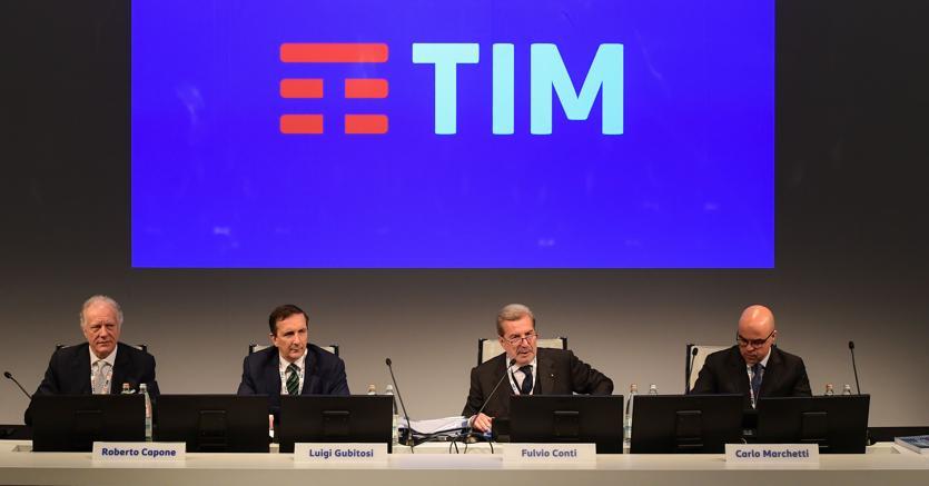 TIM, ok dell'assemblea a bilancio. Vivendi si sarebbe astenuta