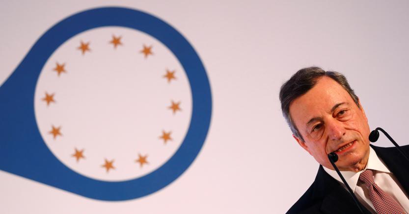 Mario Draghi, presidente della Banca centrale europea (Reuters)