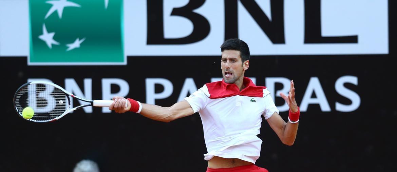 Internazionali di Tennis BNL d'Italia 2018, Novak Djokovic (AFP)