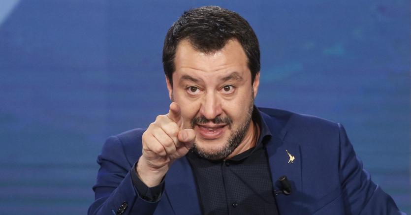 Il ministro dell'Interno Matteo Salvini (nella foto Ansa) punta sul tema sicurezza per guadagnare consensi in vista delle elezioni europee del 26 maggio