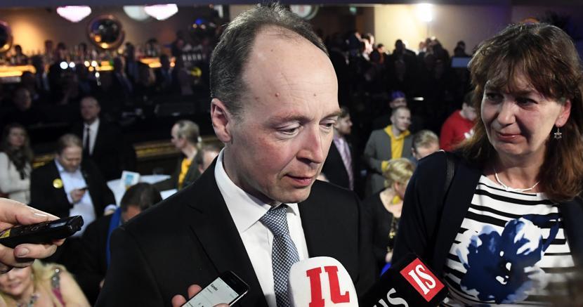 Il leader del Partito dei finlandesi, Jussi Halla-aho