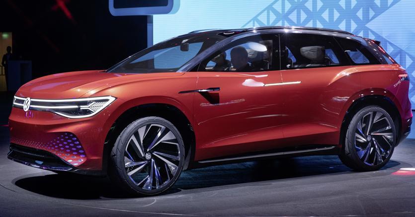 Volkswagen. La Id. Roomzz prefigura un futuro suv elettrico di taglia XXL
