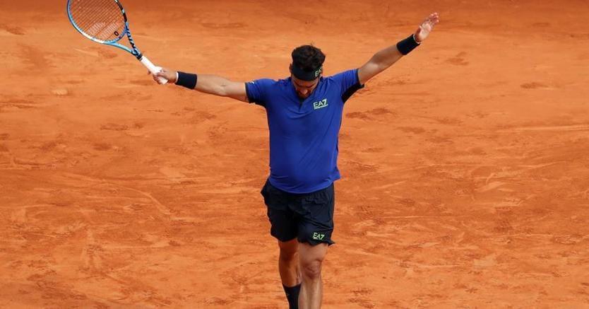 Fognini vittorioso su Nadal al torneo di Montecarlo: adesso disputerà la finale (Afp)