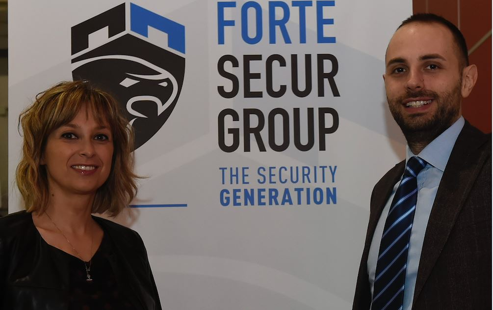 Alessia e Andrea Forte al timone diForte Secur Group che assume altri 50 addetti