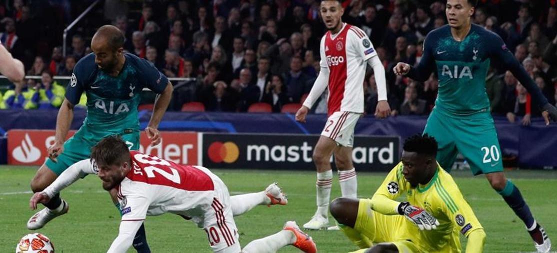 Champions League, la semifinale tra Ajax e Tottenham(Afp)
