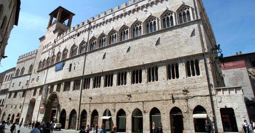 Perugia. Palazzo dei Priori, sede del Municipio (Imagoeconomica)