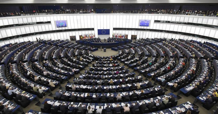 Parlamento europeo in sessione a Strasburgo (Afp)