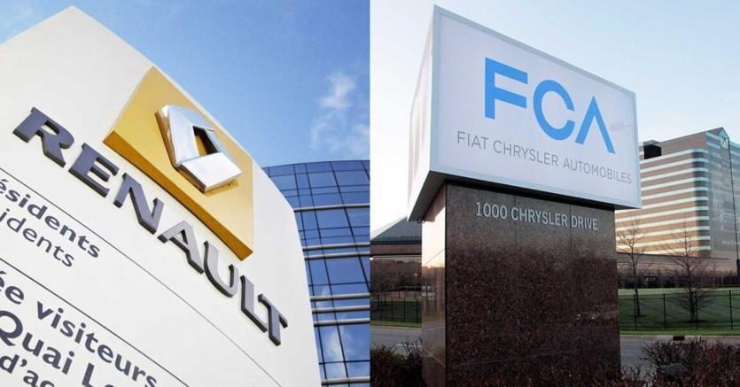 FCA: saltano le nozze con Renault, titolo affonda in Borsa