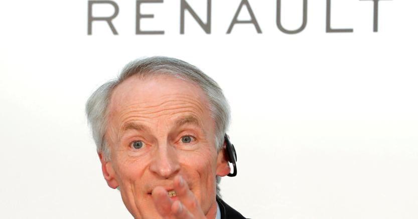 Il presidente di Renault Jean-Dominique Senard