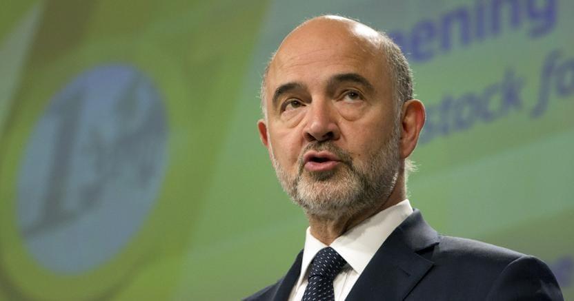 Il commissario Ue agli Affari economici Pierre Moscovici (Ap)