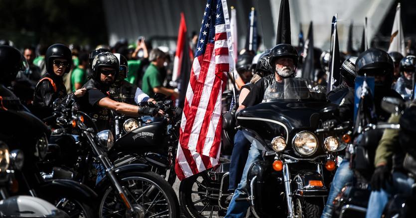 Un raduno di Halrey-Davidson - PATRICIA DE MELO MOREIRA / AFP