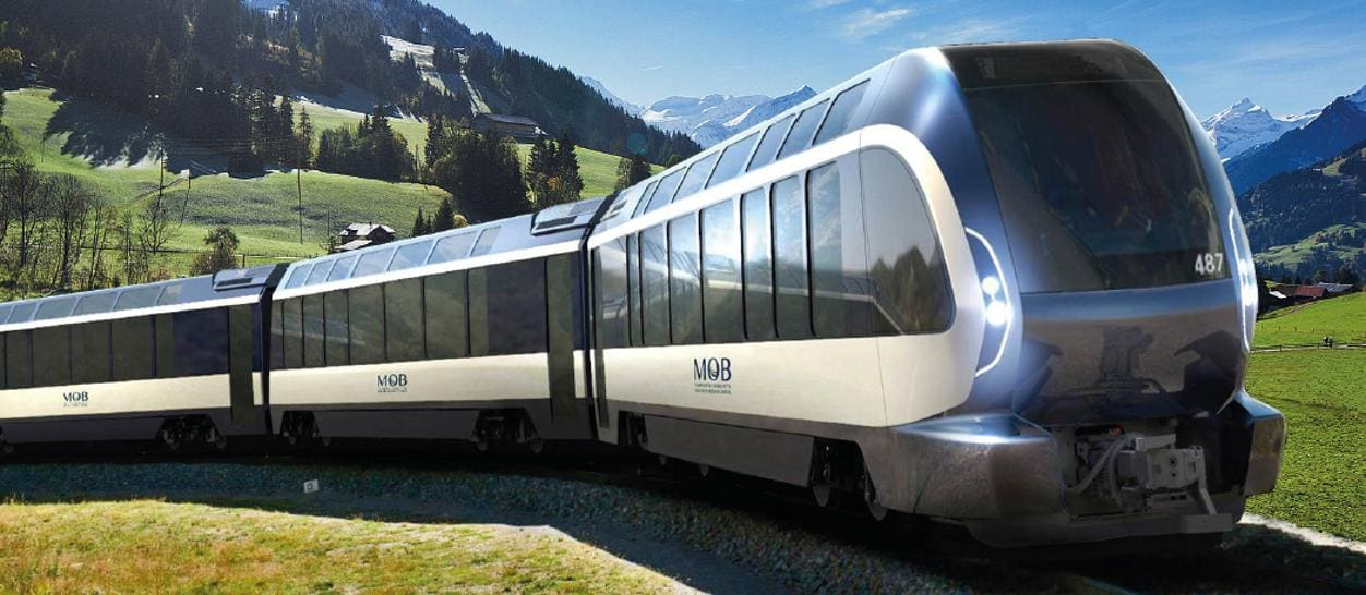 Calendario Treni Storici 2020.Pininfarina Ridisegna Il Goldenpass Express Sui Binari Da
