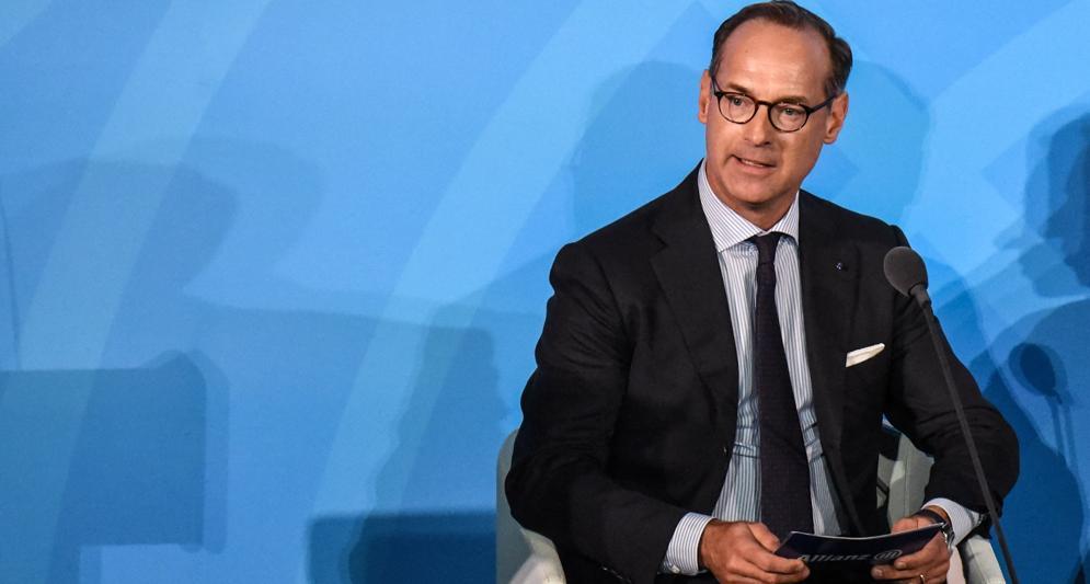 Oliver Bate, amministratore delegato di Allianz (Afp)