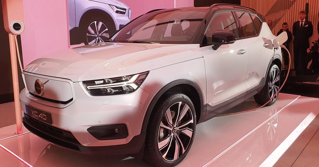 Debutta a Milano la prima Volvo elettrica
