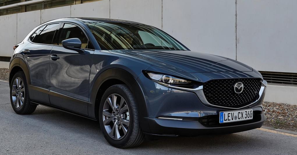 Mazda CX-30, arriva nuova motorizzazione mild hybrid da 150 cv