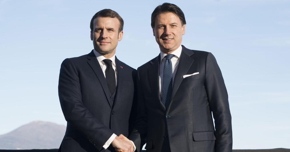 Italia-Francia, Conte: vogliamo far crescere i nostri campioni nella cantieristica e nell'auto