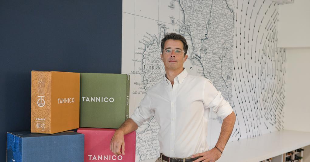 Marco Magnocavallo nel 2013 ha ideato e fondato Tannico, sito di e-commerce dedicato al vino