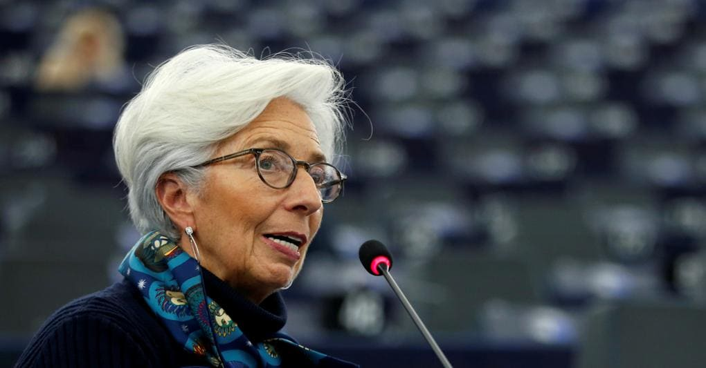 La presidente della Banca centrale europea, Christine Lagarde (Reuters)
