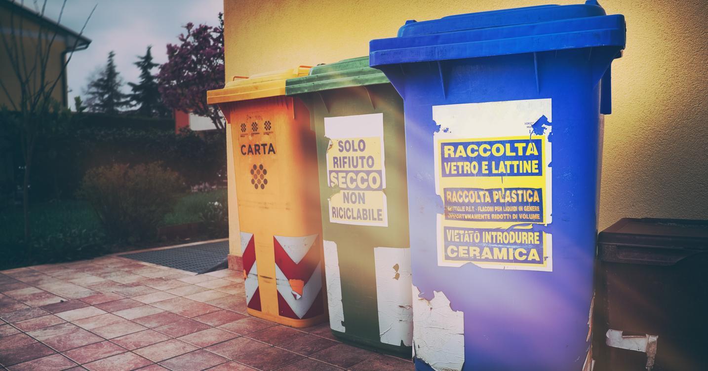 L'Italia ricicla il 70% degli imballaggi. Ma poi non sa che farne