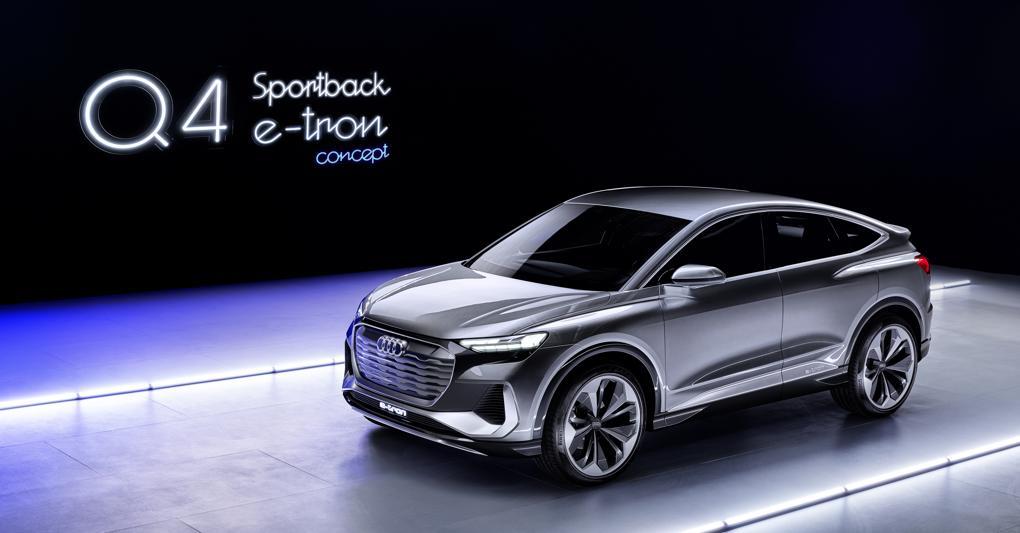 Audi Q4 Sportback e-tron : ecco il suv elettrico compatto che sfida Tesla Model Y