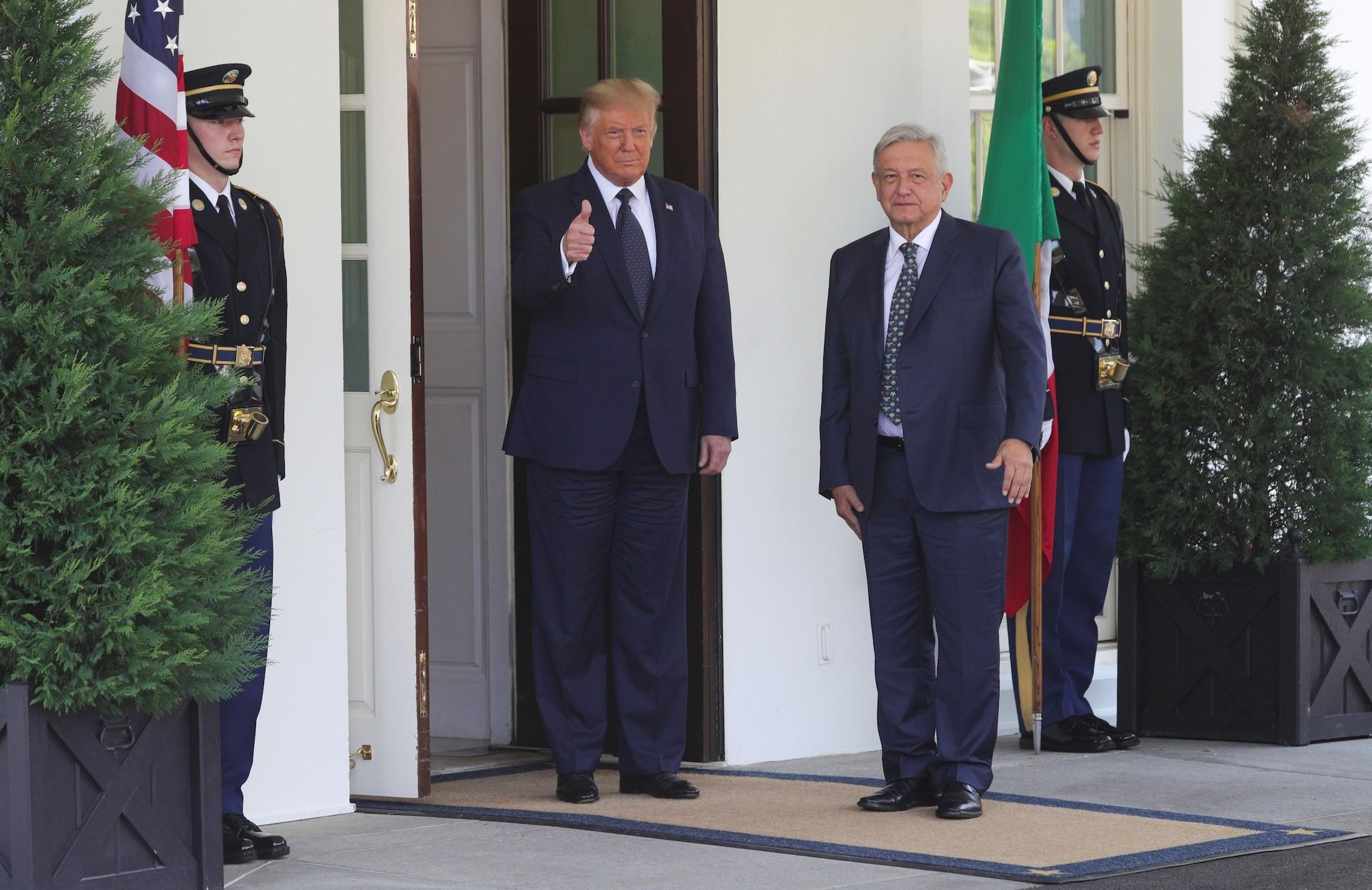 Trump scommette sul nuovo Nafta e apre al dialogo con Lopez Obrador