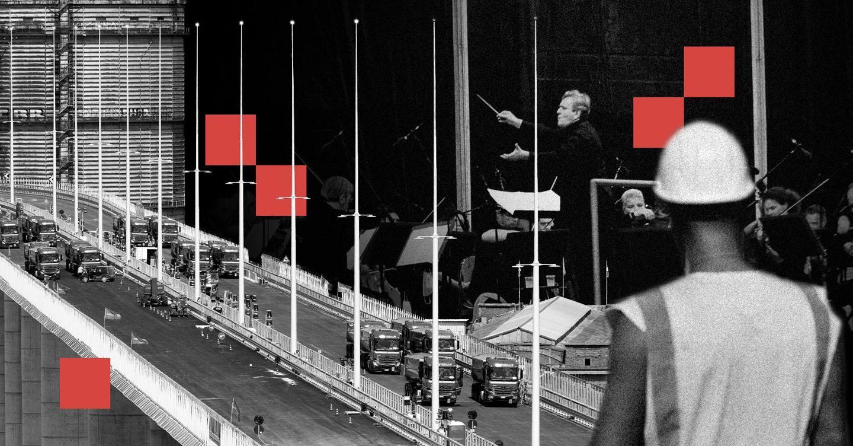 La curva anomala, i troppi piloni: pregi e difetti del nuovo Ponte di Genova thumbnail