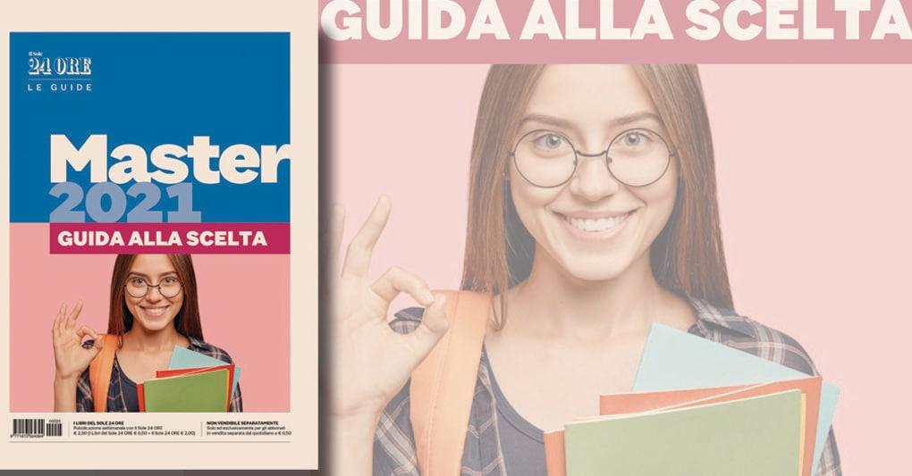 In edicola il 10 settembre la Guida master 2021 con tutte le