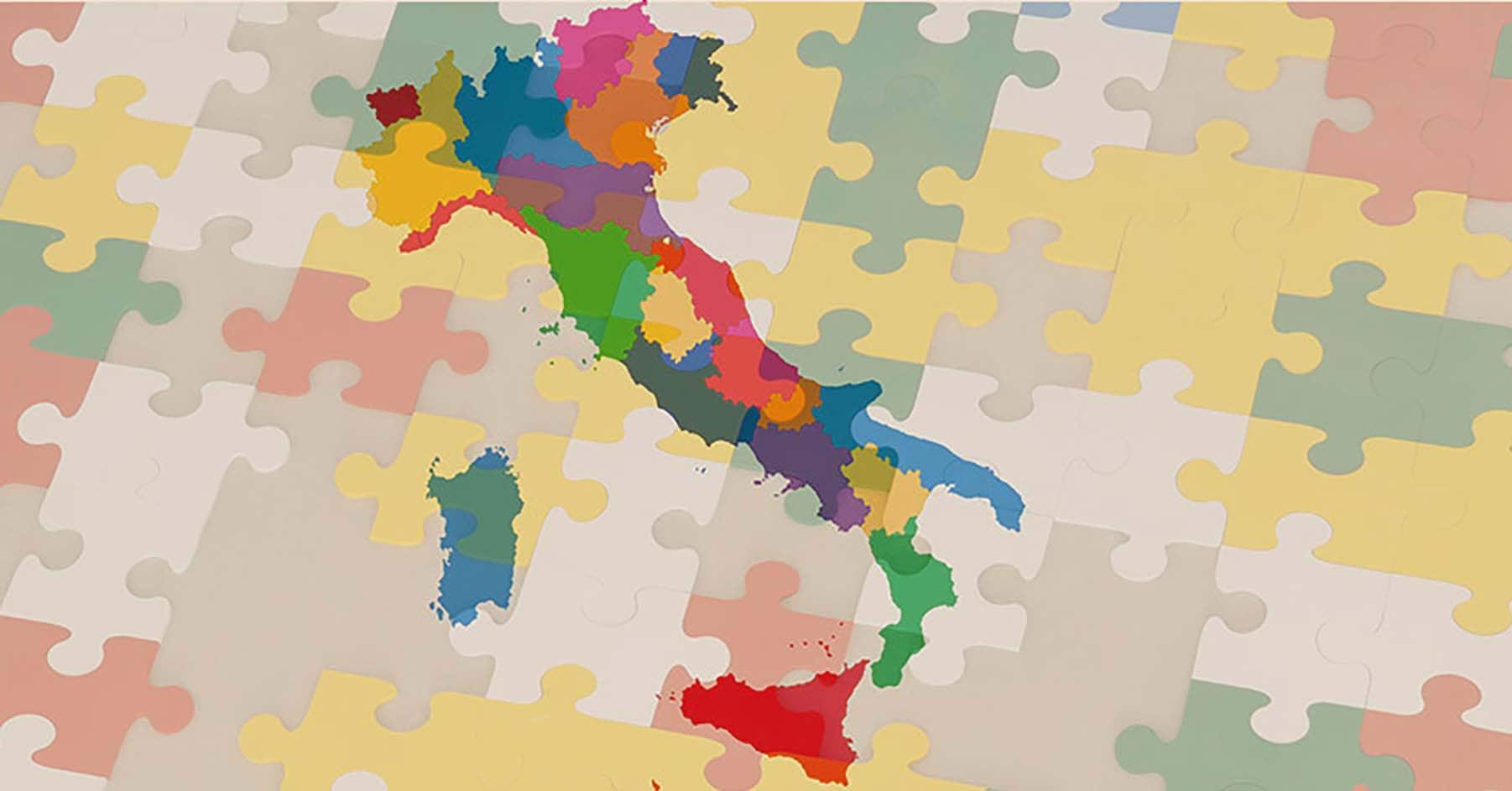 Cartina Italia Regioni Puglia
