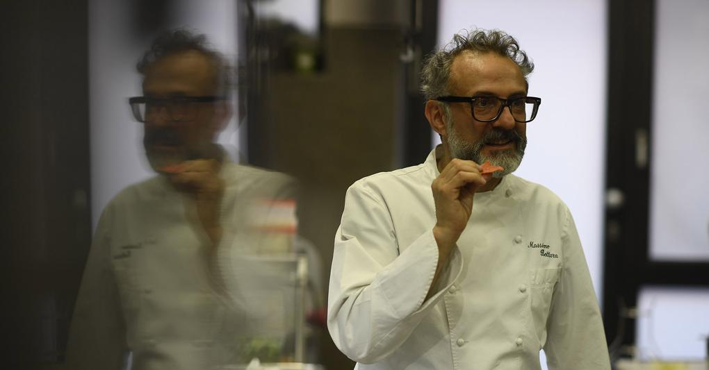 Massimo Bottura all'Osteria Francescana
