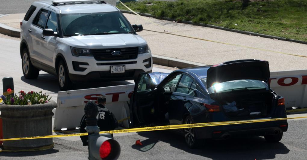 Auto contro il Congresso, assalitore ucciso dalla polizia, muore un agente