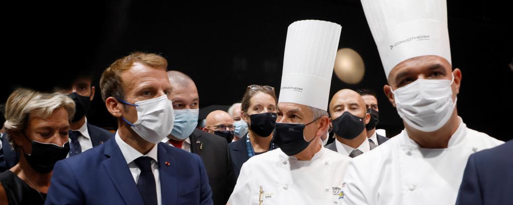 La Francia vince il Bocuse D'Or con l'entusiasmo di Macron, Italia solo decima